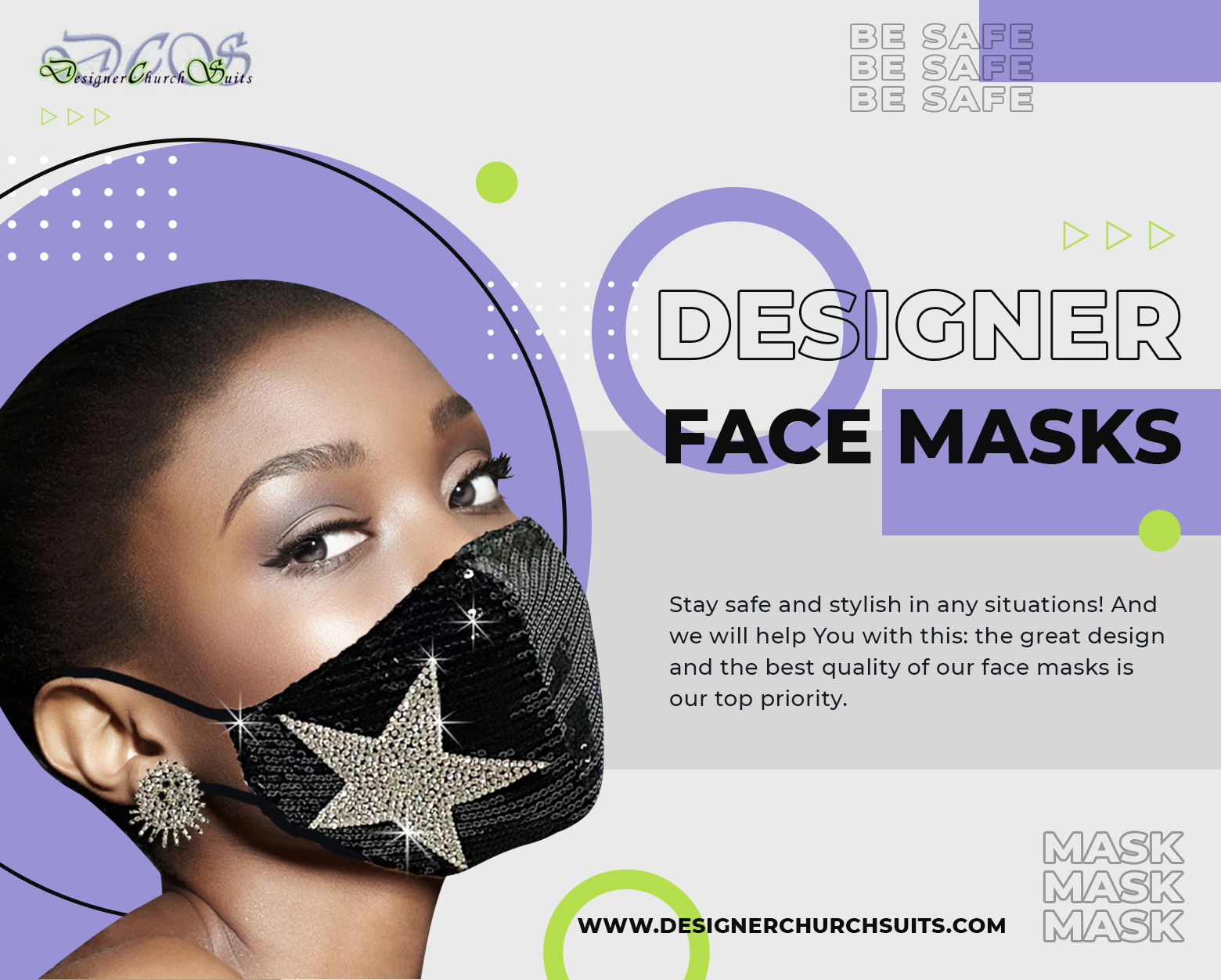Designer Face Masks Are The New Normal. Get Yours!